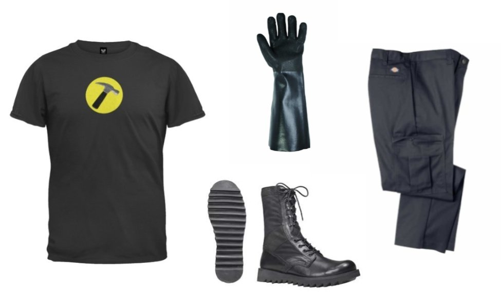 captain hammer costume - Dr Horrible Halloween Costume