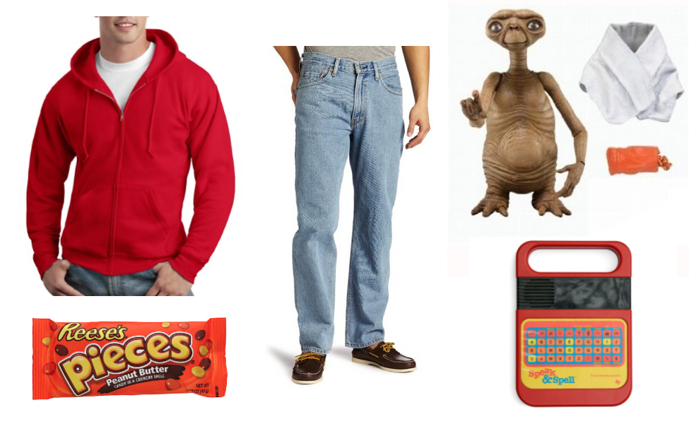 E.T. and Elliott Costume