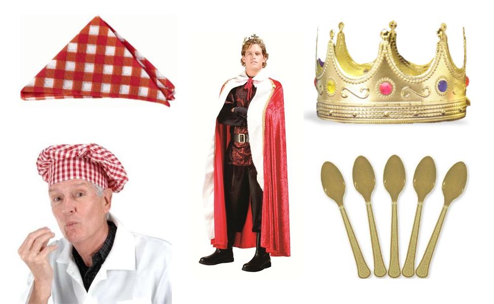 King Vitaman Costume