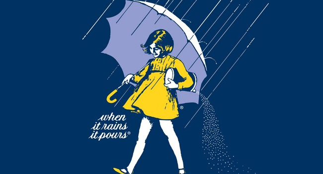 Morton Salt Umbrella Girl