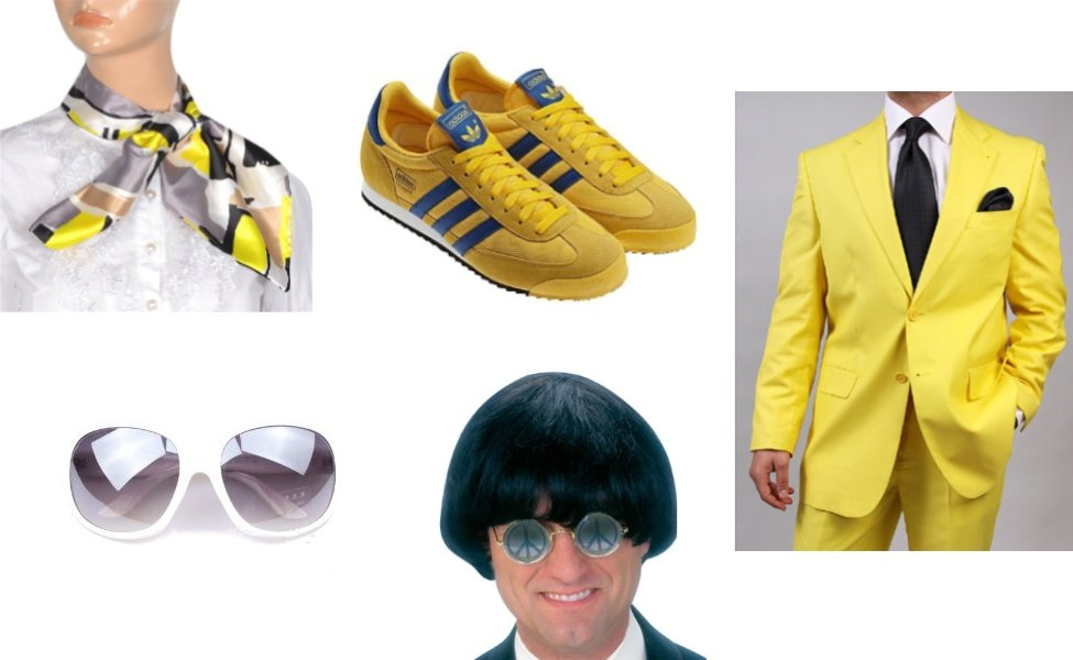 Gangnam Style Yellow Suit Guy Costume