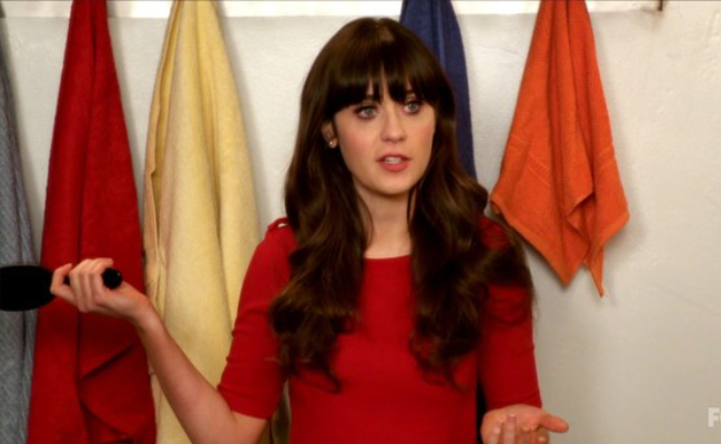 Jessica Day from the New Girl
