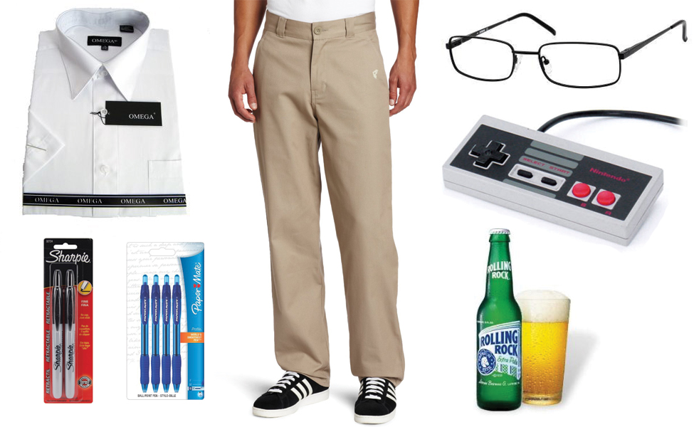 The Angry Video Game Nerd Costume