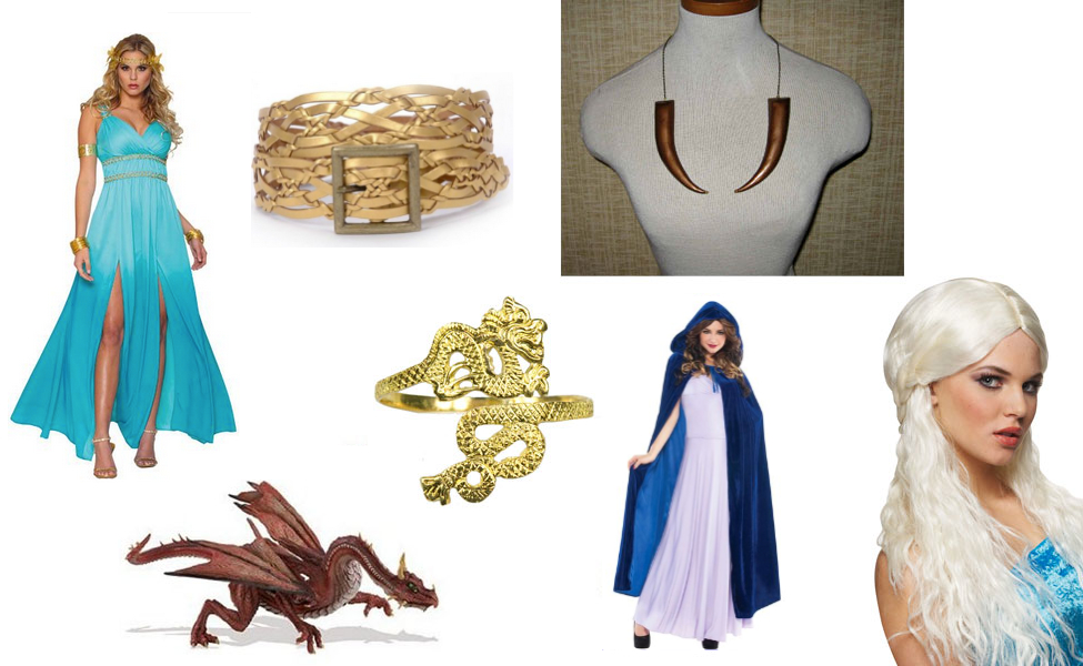 Daenerys targaryen costume diy guides for cosplay for Daenerys targaryen costume tutorial