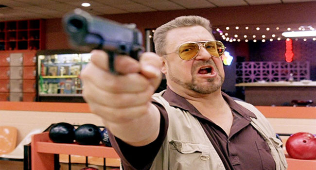 Walter Sobchak from The Big Lebowski
