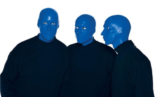 Blue Man Group Halloween 11