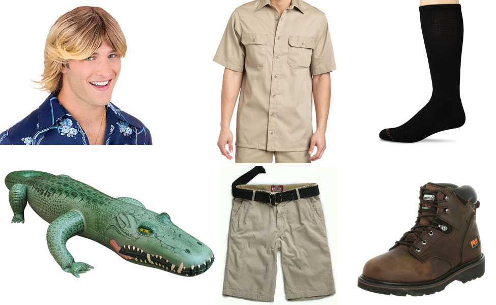 Steve Irwin Crocodile Hunter Costume