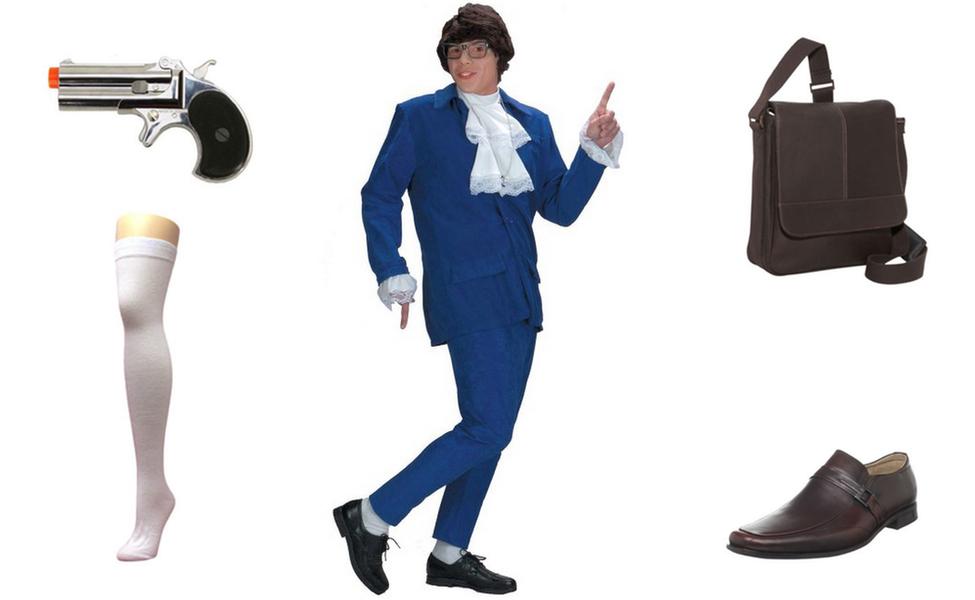 Django (Blue Valet Suit) Costume