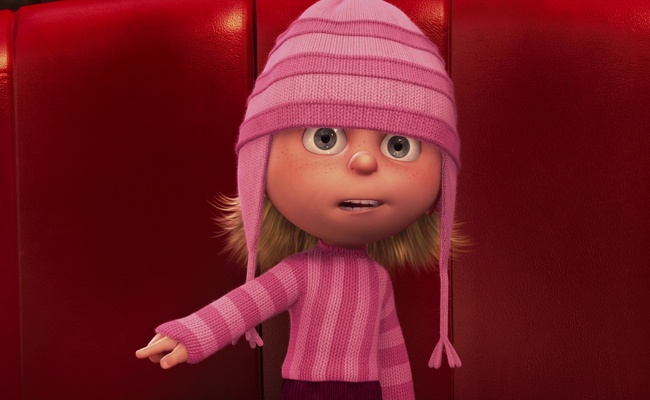 Edith in Despicable Me