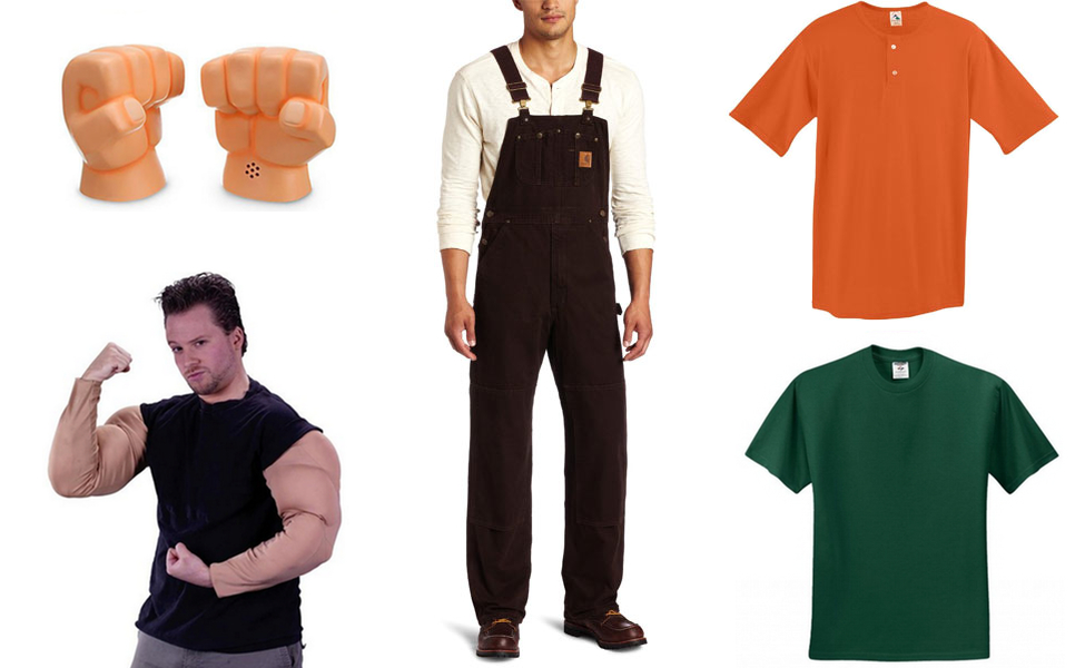 Wreck it ralph costume diy guides for cosplay halloween wreck it ralph costume solutioingenieria Image collections