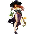 Sorceress from Dragon's Crown