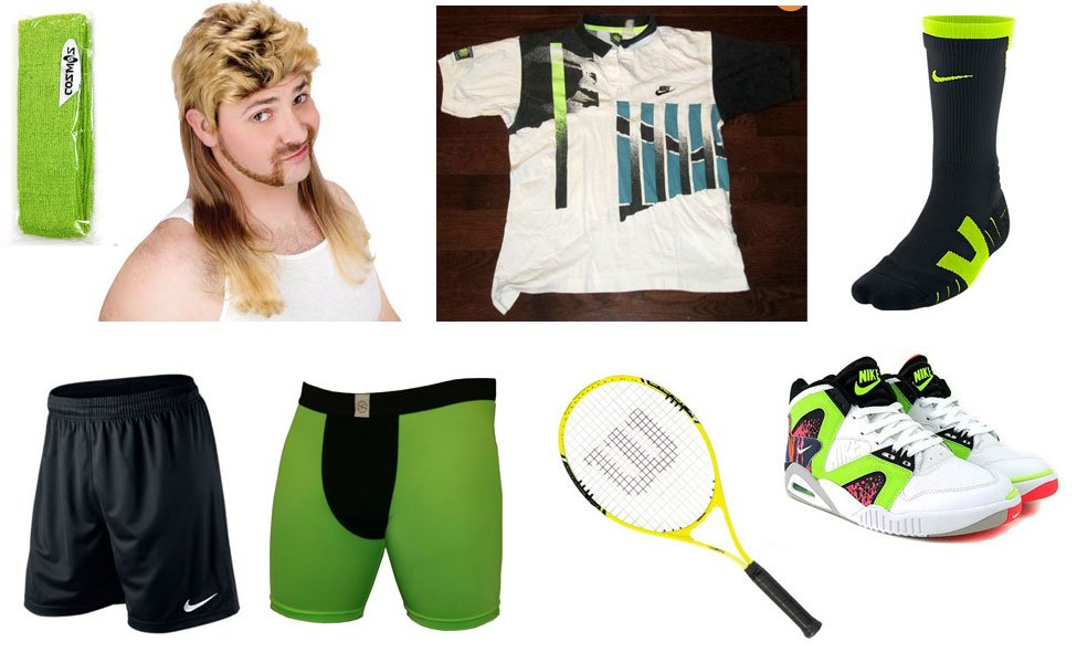 Andre Agassi Costume