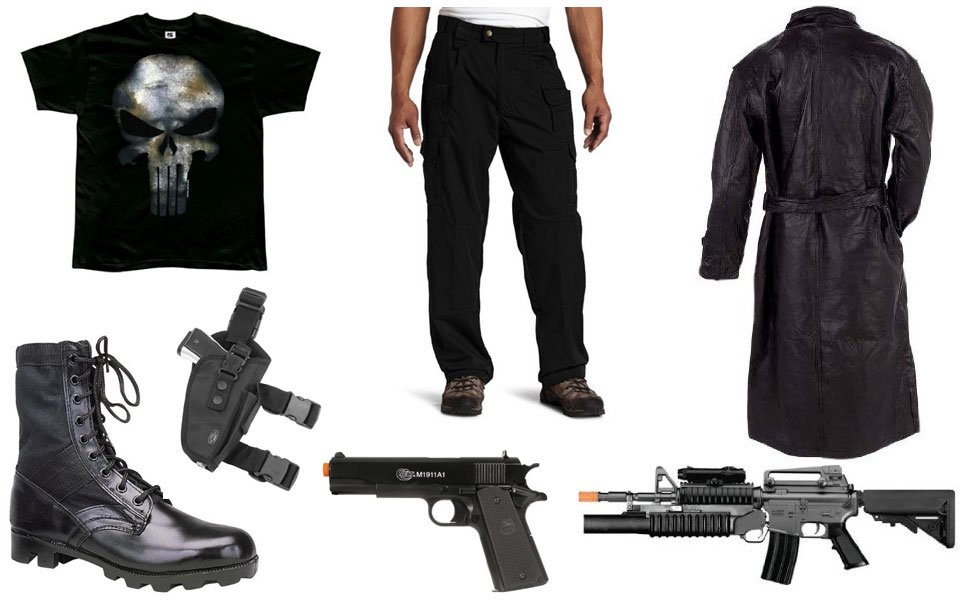 The punisher costume diy guides for cosplay halloween the punisher costume solutioingenieria Image collections