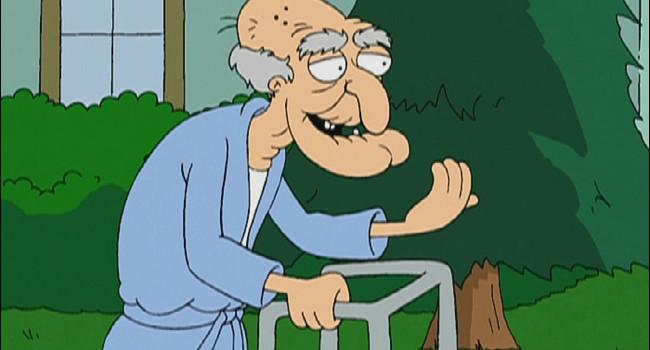 John Herbert from Family Guy