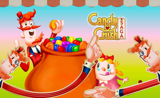 Mr. Toffee from Candy Crush Saga