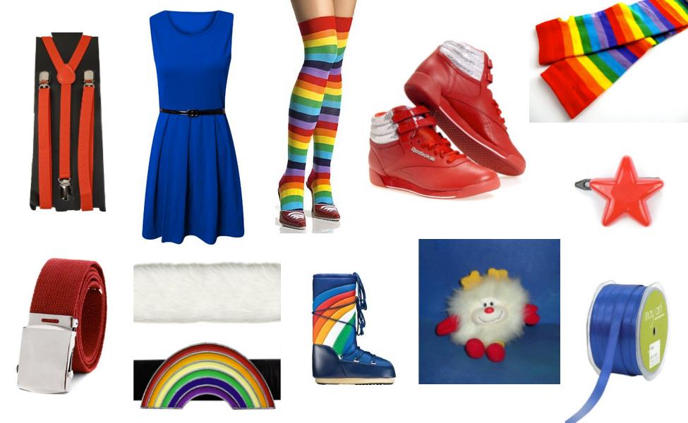 Rainbow brite adult costumes