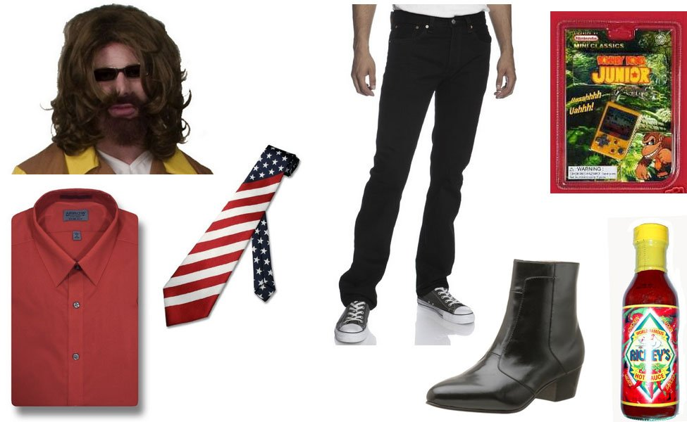 Billy Mitchell Costume