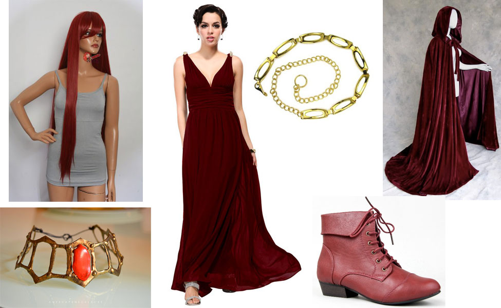 Game of Thrones Melisandre Cosplay Costumes - CosplayMagic.Com
