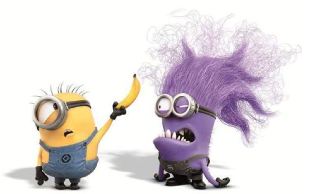 These purple, furrier versions of minions make their debut in ...