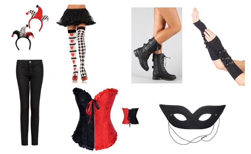 Harley quinn diy costume