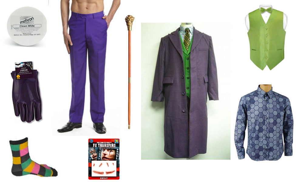 Joker Costume Diy Dress Up Guides For Cosplay Halloween