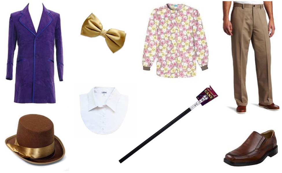 Costume Ideas For Willy Wonka Willy Wonka Costume