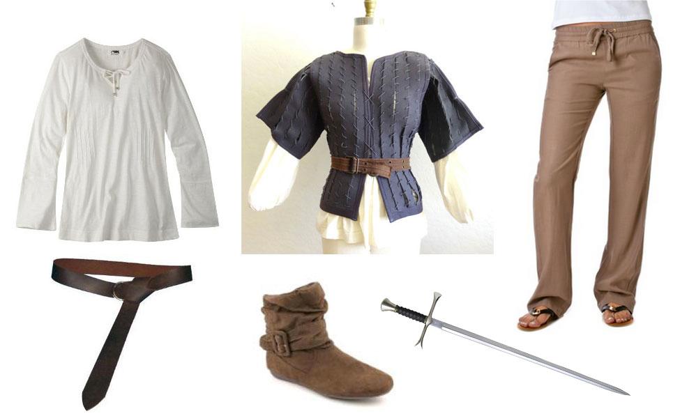 Arya Stark Costume Diy Dress Up Guides For Cosplay Halloween