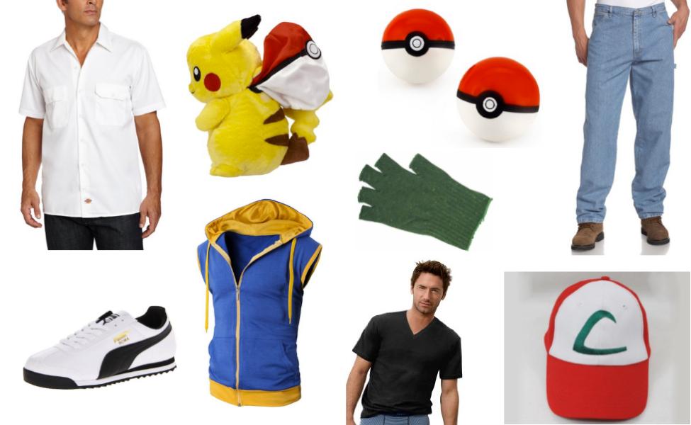 Pokemon Ash Ketchum Costume Ash Ketchum Costume