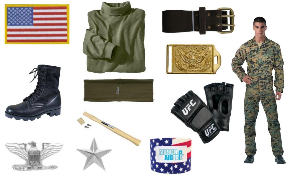 Colonel Stars and Stripes Costume