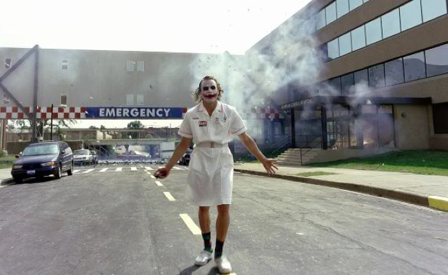 Heath Ledger Joker Nurse Nurse Joker  Heath Ledger