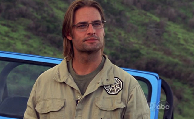 Sawyer in The Dharma Initiative