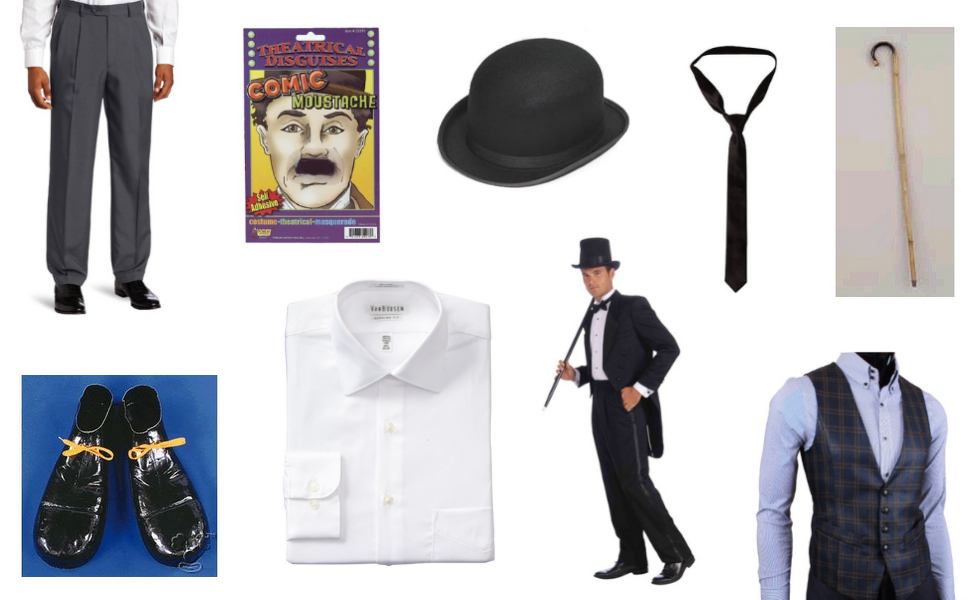Charlie Chaplin Costume Carbon Costume Diy Dress Up