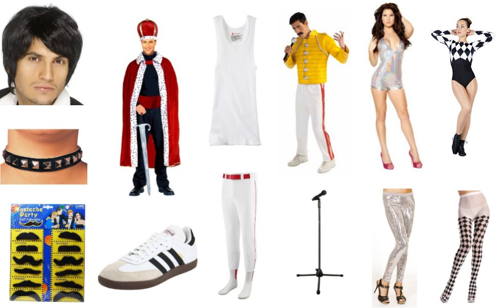 freddie mercury costume diy guides for cosplay halloween. Black Bedroom Furniture Sets. Home Design Ideas