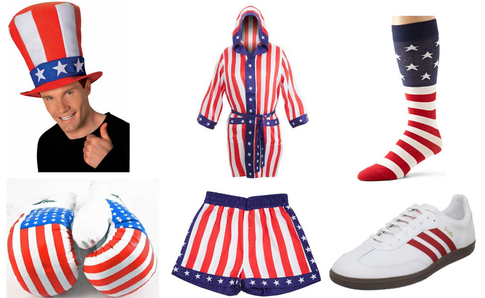 Apollo Creed Costume  sc 1 st  Carbon Costume & Apollo Creed Costume | DIY Guides for Cosplay u0026 Halloween
