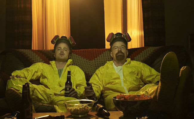 Jesse Pinkman and Walt White