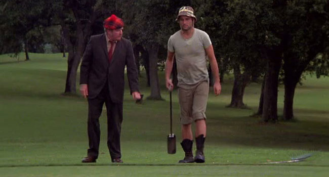 Carl Spackler from Caddyshack
