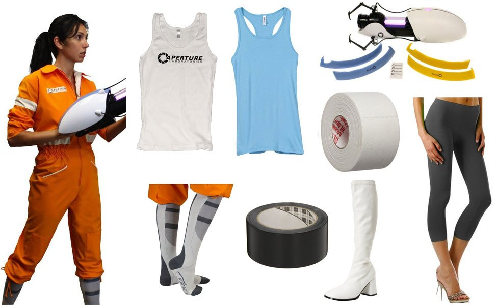 Chell From Portal Costume Carbon Costume Diy Dress Up