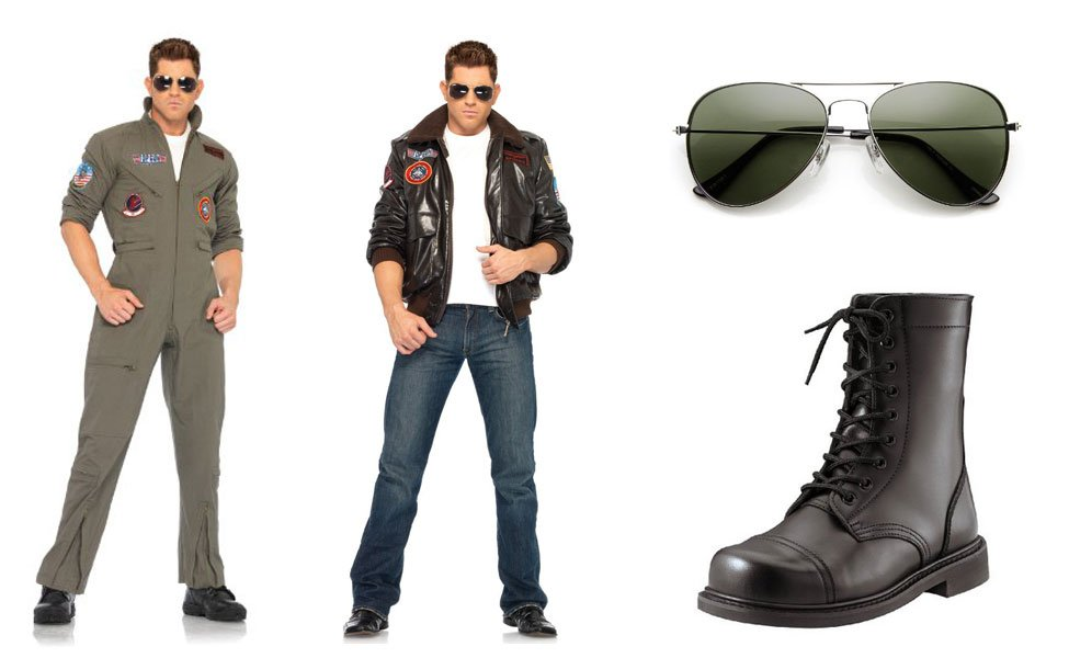 Maverick from Top Gun Costume