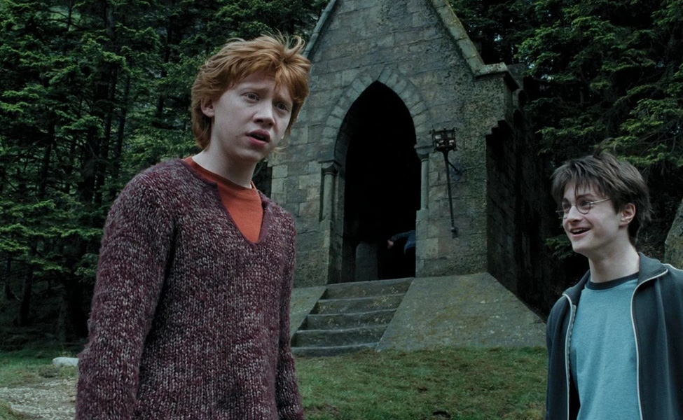 Ron Weasley in The Prisoner of Azkaban