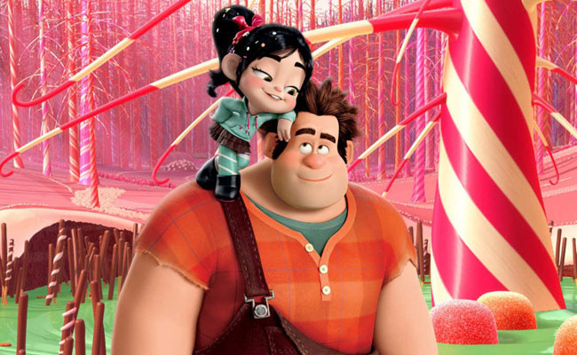 Wreck-It Ralph ( see costume ) and Vanellope von Schweetz ( see