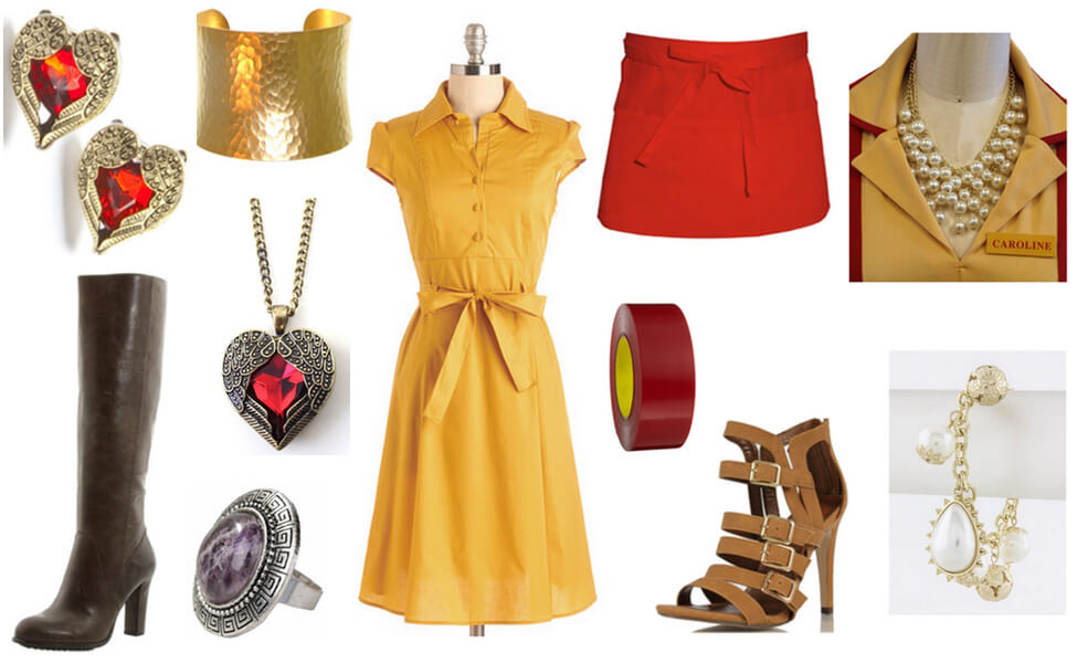 2 Broke Girls Costume