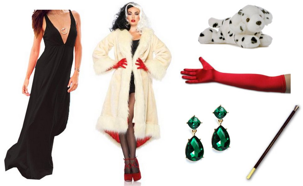 cruella de vil costume diy guides for cosplay halloween. Black Bedroom Furniture Sets. Home Design Ideas