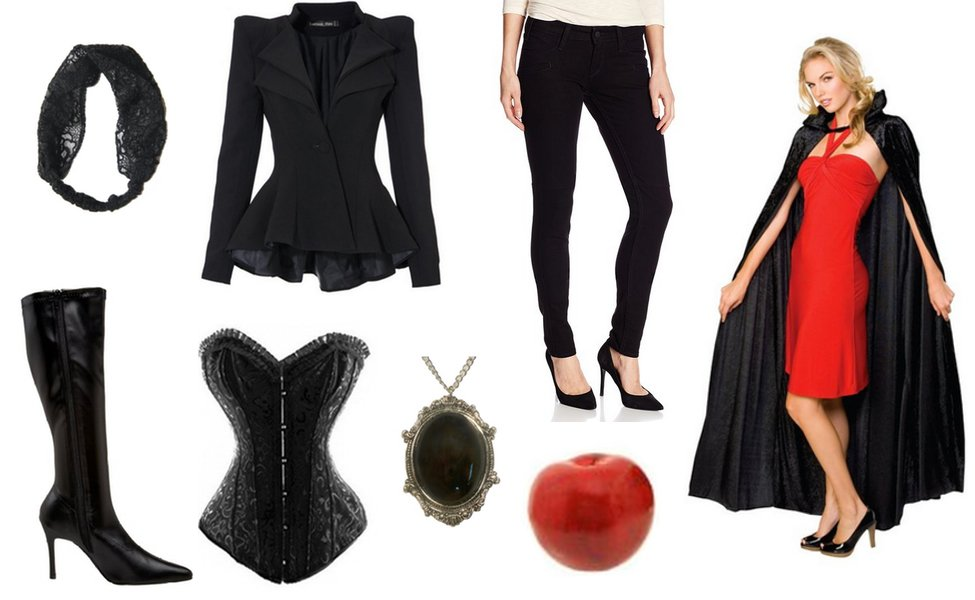 the evil queen from once upon a time costume