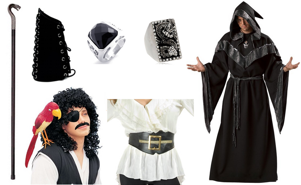 Jafar from Once Upon a Time in Wonderland Costume  sc 1 st  Carbon Costume & Jafar from Once Upon a Time in Wonderland Costume | DIY Guides for ...