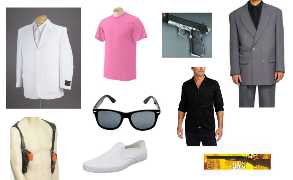 Miami Vice Costume