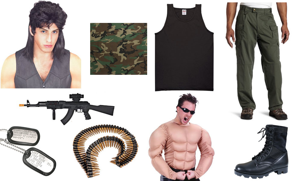 Rambo Costume  sc 1 st  Carbon Costume & Rambo Costume | DIY Guides for Cosplay u0026 Halloween