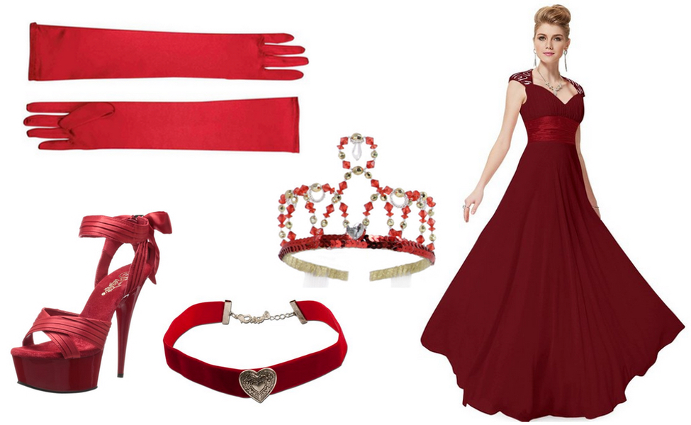 The Red Queen from Once Upon a Time in Wonderland Costume  sc 1 st  Carbon Costume & The Red Queen from Once Upon a Time in Wonderland Costume | DIY ...