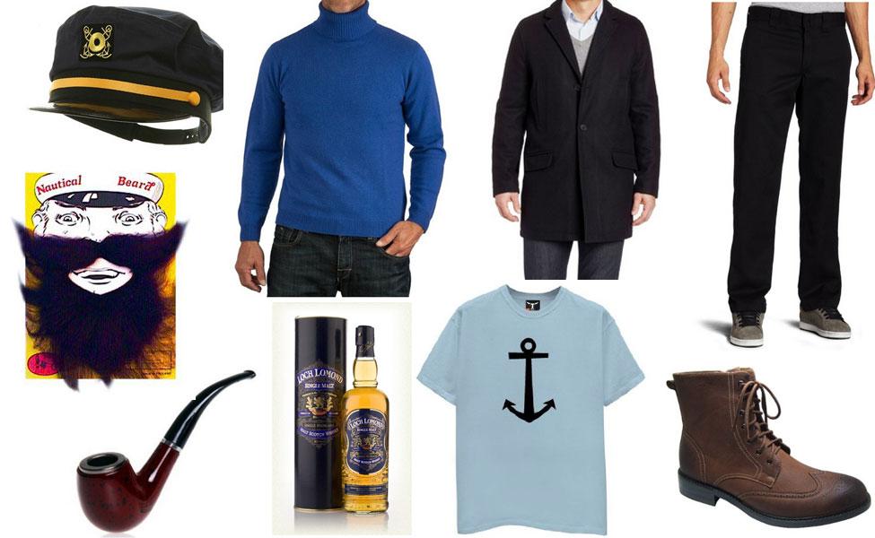 Captain Haddock Costume
