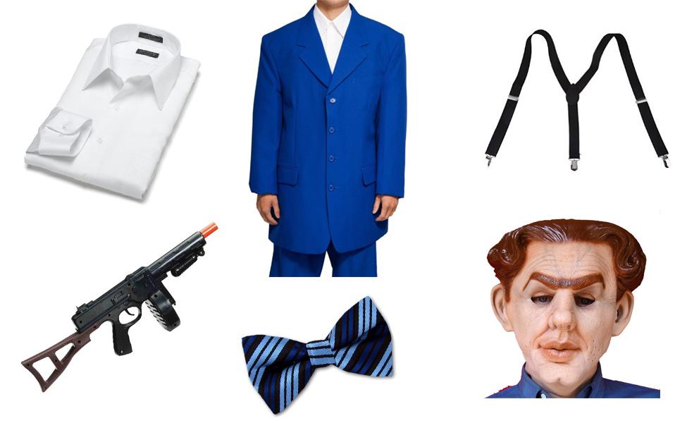 Flattop Jones Costume