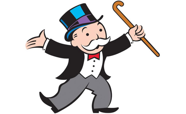 Image result for monopoly man